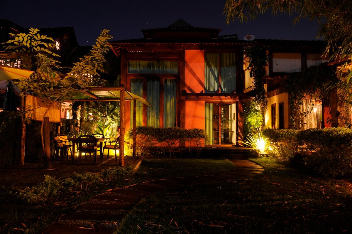 The Loft at night
