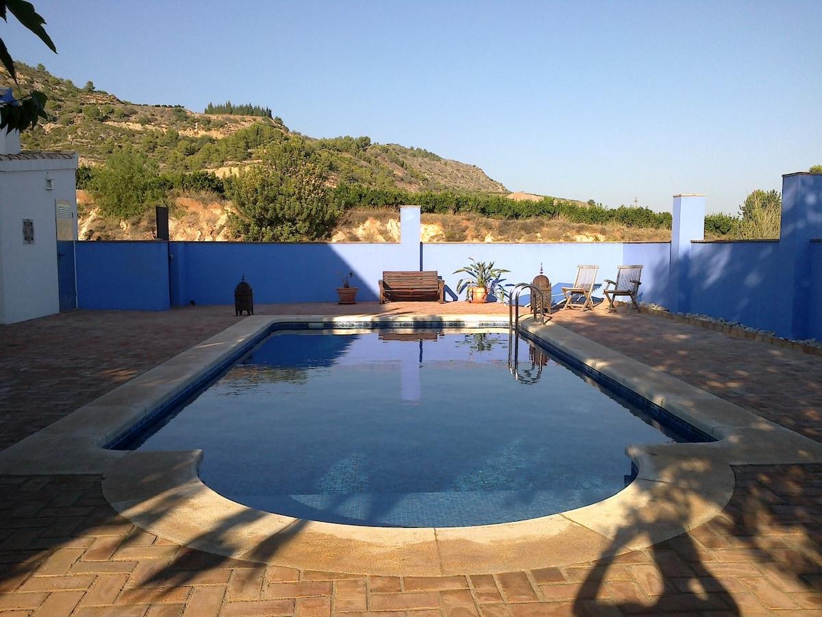Gorgeous Mediterranean Blue Apart.