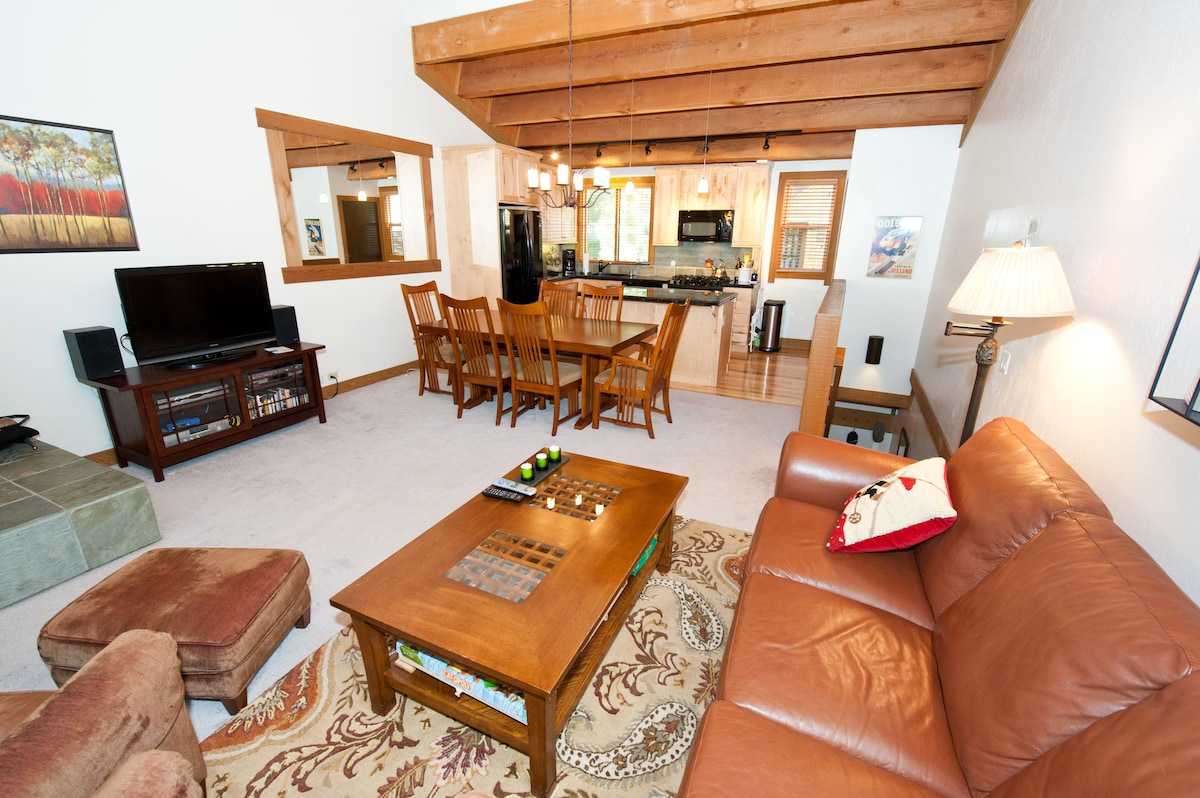 There's plenty of room to relax, cook a great meal in the well-equipped kitchen, and dine with friends and family.