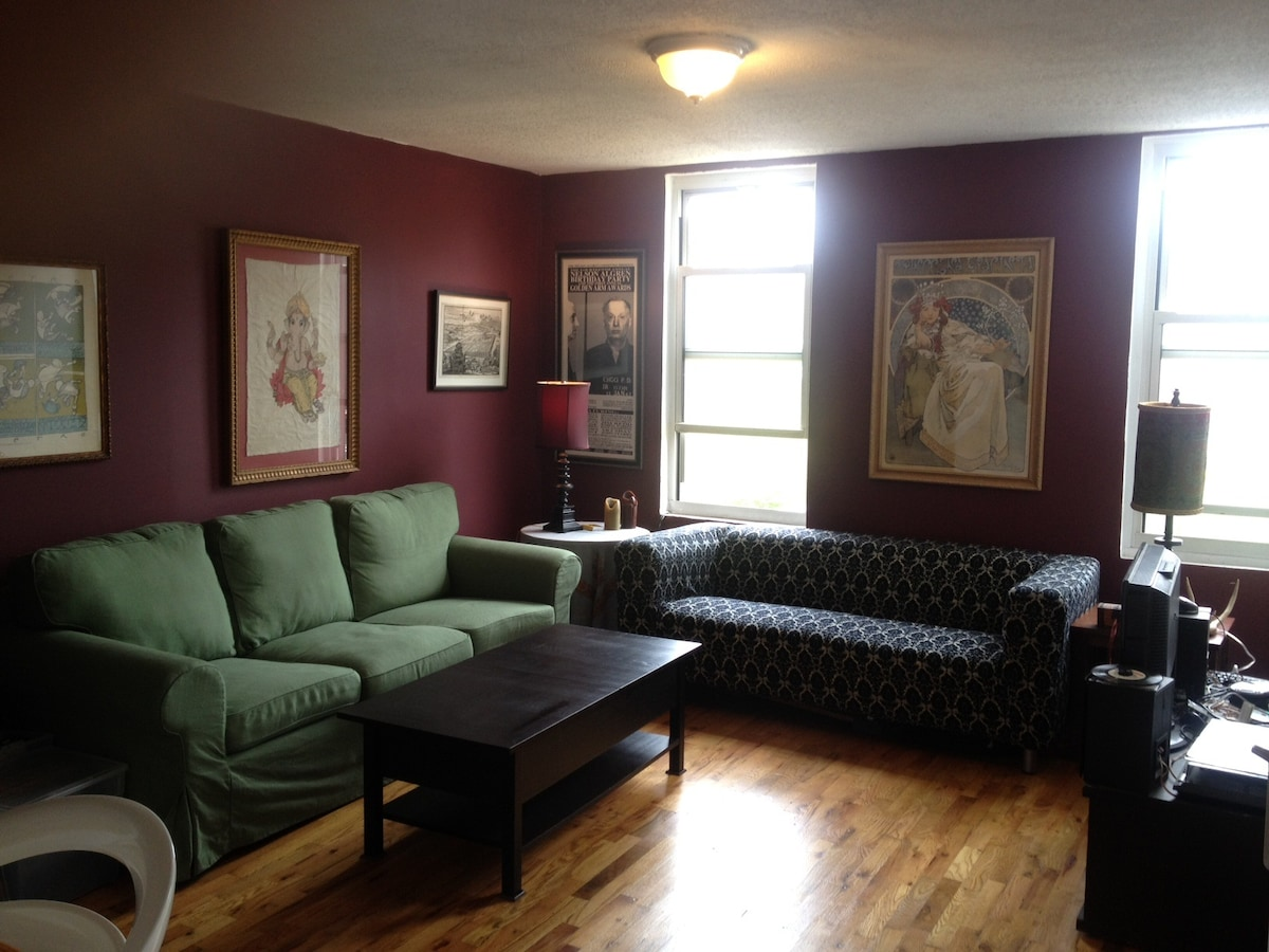 Sunny, well-appointed Brooklyn room