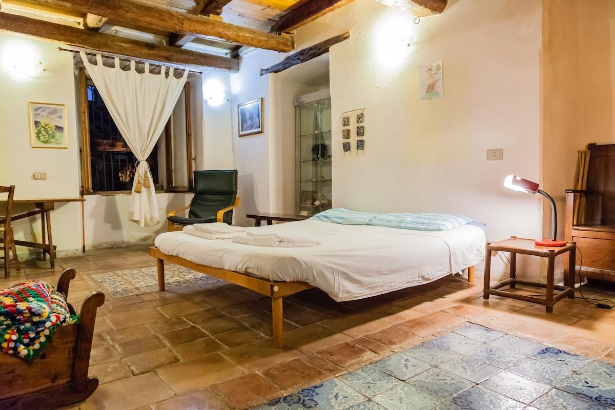 A big room in Cagliari's center