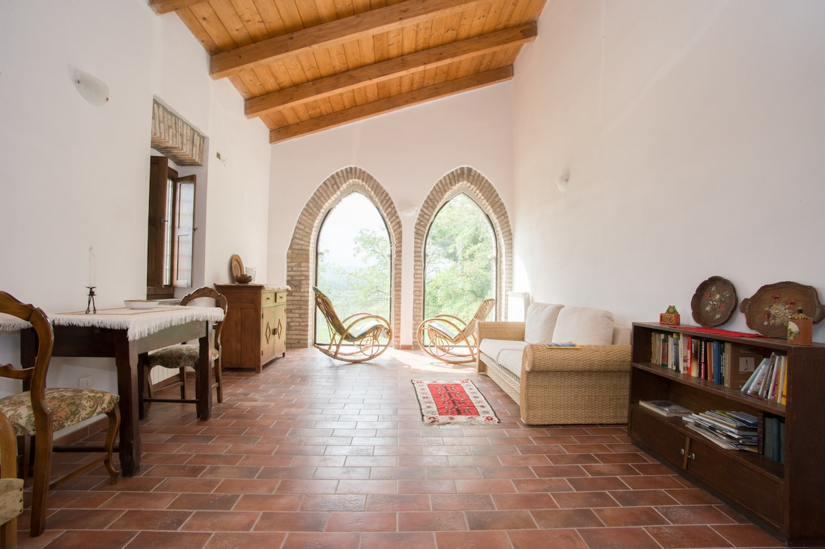 Our traditional stone house in Tuscia