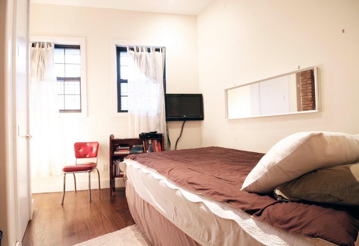 Comforts in Bushwick Brooklyn