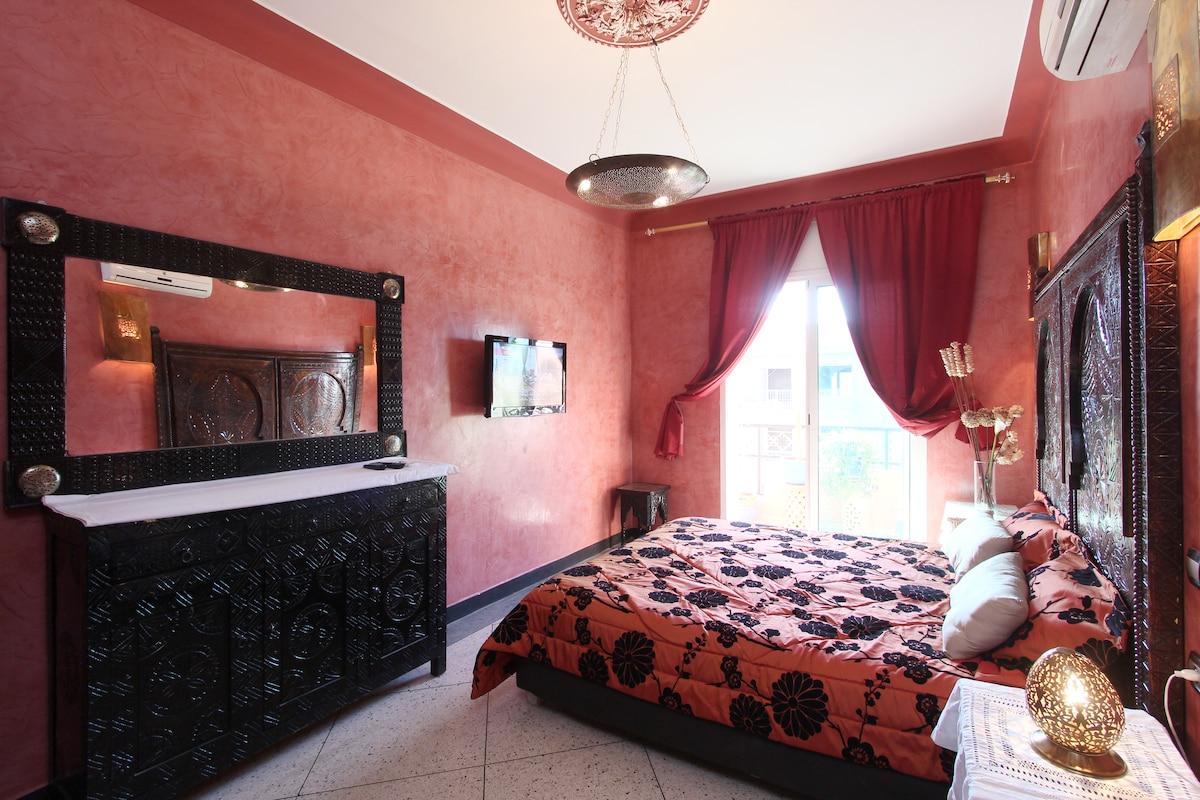 Luxury Apart Avenue Mohamed V &WIFI