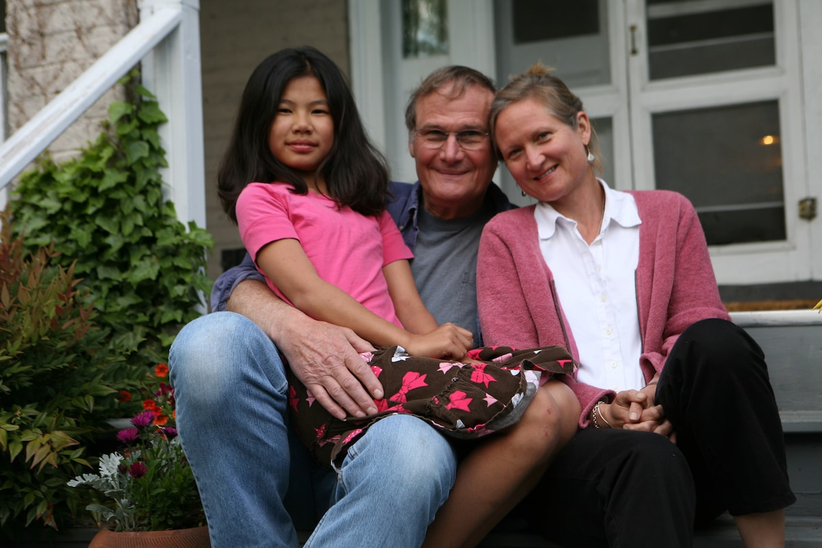 Steve, Nell And Mei Ling
