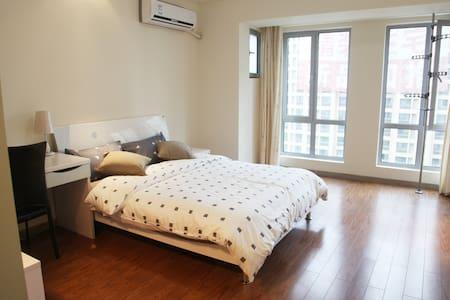 近徐家汇虹桥机场 欢乐谷 九号线直达 居家私密温馨简约功能型公寓 - Wohnung
