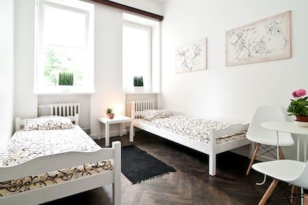 Extra Hostel twin room - Kaunas - Bed & Breakfast
