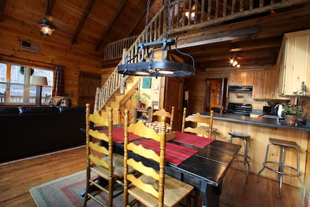 Bear Foot Cabin at Walker Creek Retreat - Pearisburg - Cabane