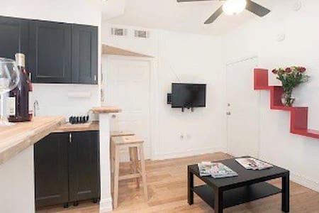 Entire 1bed/1bath  apartment 7 blocks from beach - Miami Beach - Appartement