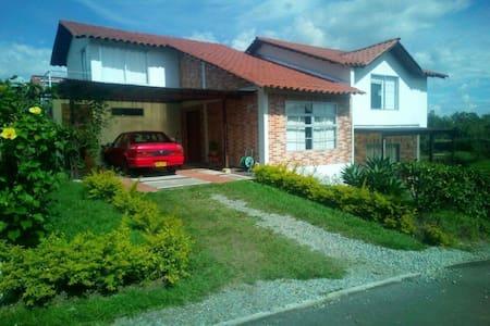 Casa Campestre exclusiva propiedad en Quimbaya Qui - Rumah