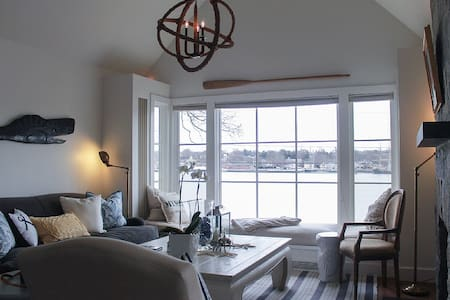 Beautiful Home with Views of the Mystic Seaport. - Groton