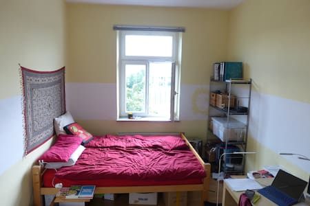 Prvt. room in cosy flat 5 min walk to Octoberfest - Apartment