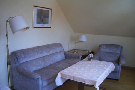 Möblierte 3Zi Wohnung. Bad, Küche, H6 - 2.OG - Friedrichsdorf - Lejlighed