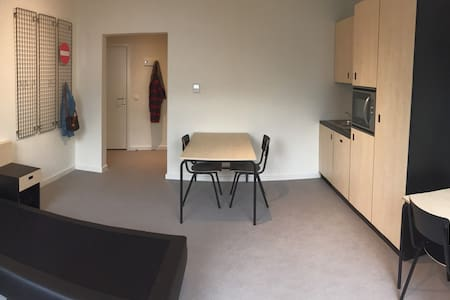 Shared room in Quartier Saint Boniface - Ixelles - Condominium