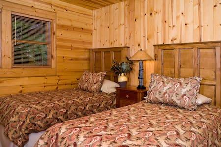 A Mountain Home Base Cabin - House