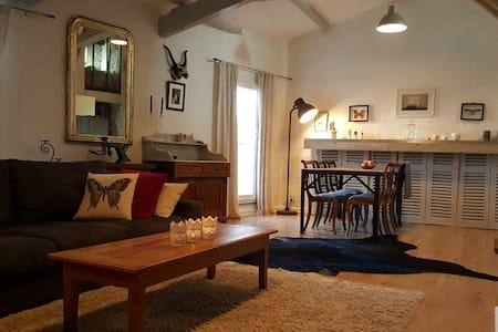 Loft 15mn Aix - Provence rated Village - Apartemen