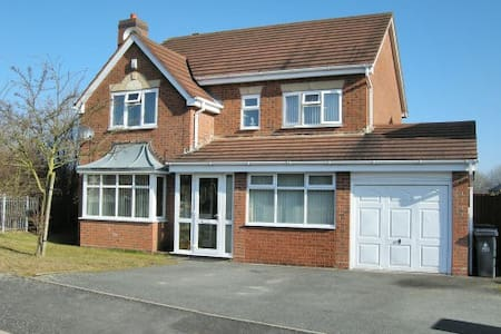 4 Bedroom Family home - Pelsall