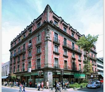 Recámara centro  ciudad de Mexico - Ejido del Centro - Appartamento