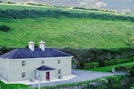 Georgian house less than 20 min to Kinsale & Cork - Halfway - Casa
