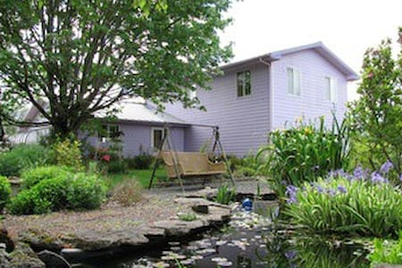 Beautiful house on 25 acre organic farm nr. Eugene - Pleasant Hill - Casa