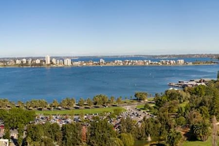Luxury City Living with Panoramic River Views - Perth - Apartment