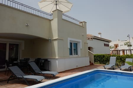 2 Bed Villa with pool at Mar Menor Golf Resort - Torre-Pacheco