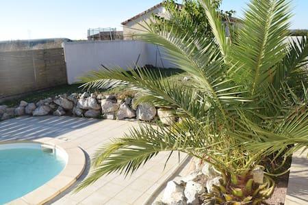 maison 4 chambres avec piscine - Donzac