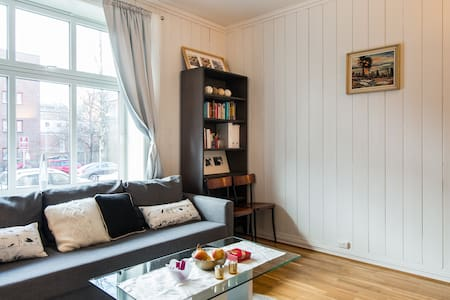 Central, cozy and quiet neighbourhood in Oslo - Oslo - Apartment