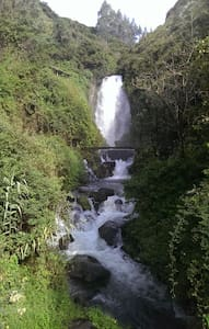 ♡Peguche Waterfall Next Door♡ - Otavalo - Peguche - Huis