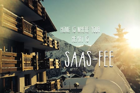 Cozy 5 bed apartment - Saas-Fee-Valais-Switzerland - Lyxvåning