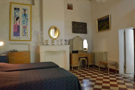 Charmante et authentique maison provençale - Saint-Privat-de-Champclos - Rumah