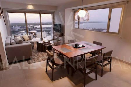 LUXARY 2 BDRM AT MALECÓN CANCUN - Appartamento