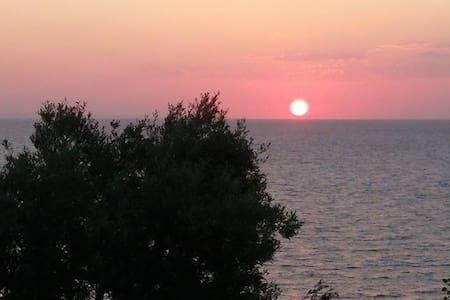 Private balcony to the AEGEAN SEA - Luxury villas - Larisa