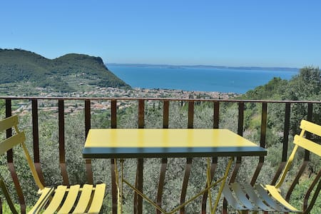 House Pool And Views On Garda Bay - Wohnung