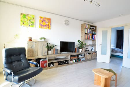 Bright top floor apartment in a quiet neighborhood - Amsterdam - Wohnung