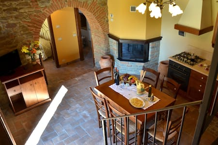 Apartment near Cortona with wifi and green garden - Cortona