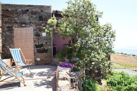 Dammuso fiore di cappero a pochi m. dal mare. - Pantelleria - House