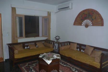 un foyer chaleureux  prés de la mer - Al-Maamoura - Haus