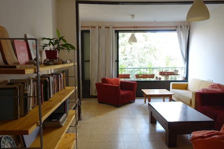 Cozy room in light-filled Weizmann-area apartment - Leilighet