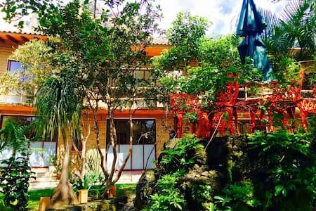 Refugio del Alma - Suite #3 / Cama Matrimonial - Tepoztlán