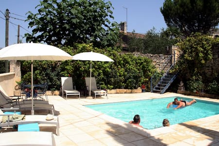 Rose Cottage & pool an hour from Bordeaux/Bergerac - Puisseguin - Ev
