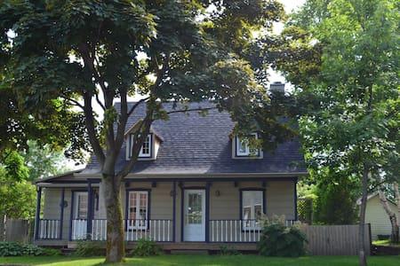 Maison canadienne, à proximité de Québec - Haus