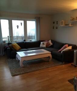 Romslig leilighet med god utsikt. - Flat