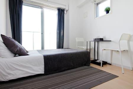 2min Namba*Cozy Relaxing* Free Wifi - Osaka - Appartement