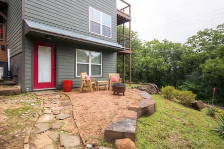 Tranquil Pottsboro Studio w/Private Fire Pit - Pottsboro - Inny