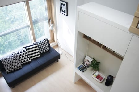 ★OPENSALE★5min Lotteworld,Lakeview,Jamsil,잠실,호수뷰복층 - Songpagu Suckchondong - Appartement
