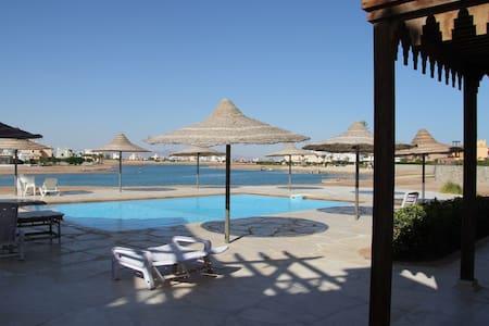 Cozy Modern Apartment on the Laguna - Hurghada - Lakás