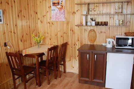 Pokój ze słonecznym tarasem - Nadrybie-Wieś - House