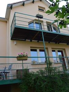 Maison sur pilotis, grande terrasse - House