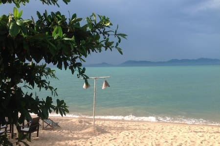 maison de charme les pieds dans l'eau avec vue mer - Amphoe Ko Samui - Hus